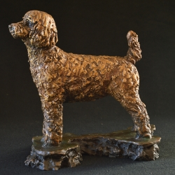 Oliver - Poodle sculpture modified