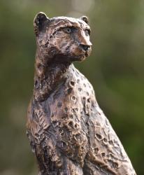 Cheetah Sitting  - Maquette