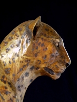 Egyptian-styled leopard
