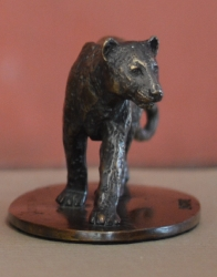 Leopard - Small bronze collectibles