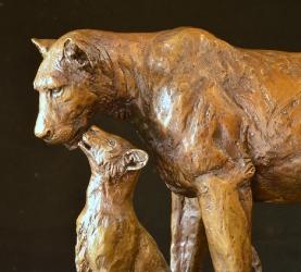 Maternal Instinct - Lioness and cubs