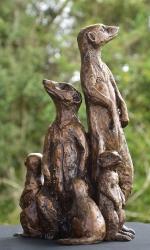 Meerkat Family x5 - SOLD