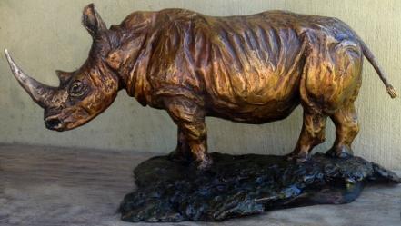 White Rhino large Maquette