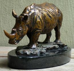 White Rhino small maquette