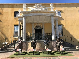 Doman at the Castle of Good Hope, Capetown
