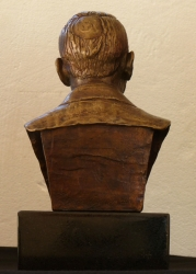 Marquette study for Mr Philip Garlick portrait bust Bust