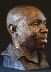 Portrait Bust of Lebogang Matabane