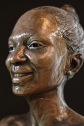Portrait Bust of the late Kate Matlale Ramoshaba