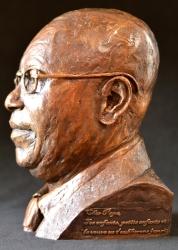 Portrait bust of Florentin Mangenda Mukoko
