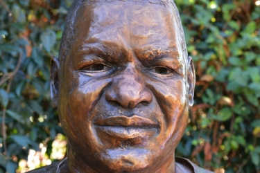 Portrait Bust of the late Prince Mphathi L Sithole