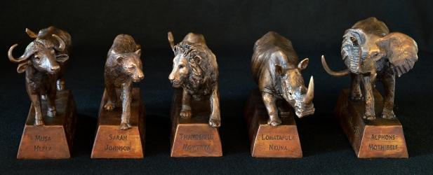 Big 5 trophies