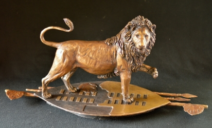 eSwatini Lion on Shield