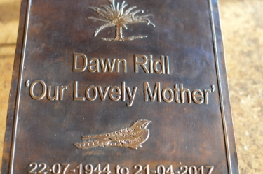 Our lovely Mother Plaque