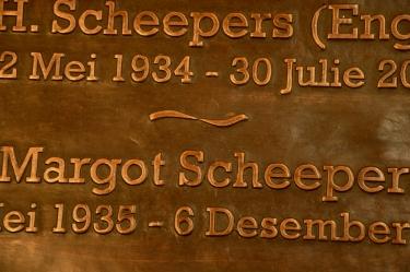 Scheepers Plaque