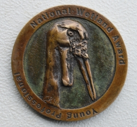 Wattled Crane Relief Medal
