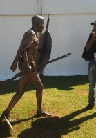 King Nyabela at Oliewenhuis