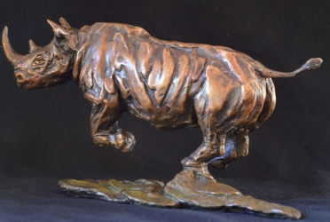 Black Rhino Maquette