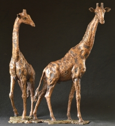 Giraffe Love