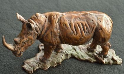 White Rhino small - Maquette 2