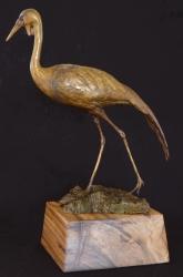Wattled Crane maquette