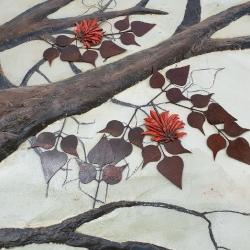 Thembelihle Primary School Relief Tree Mural