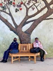 Thembelihle Primary School Tree Mural