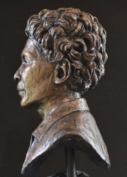 Portrait Bust of the late Kate Matlale Tlabjane