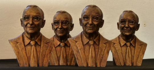 Marquette study for Mr Philip Garlick portrait bust Bust