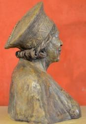 Concrete Portrait bust