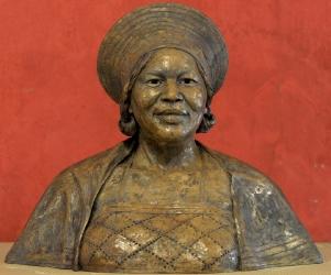 Portrait Bust in Concrete