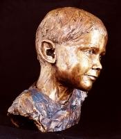 Portrait bust of Carl