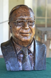 Portrait bust of Lord Alan Willcocks