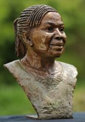 Portrait bust of Marie