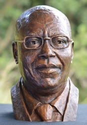 Portrait Bust of the late Florentin Mangenda Mukoko