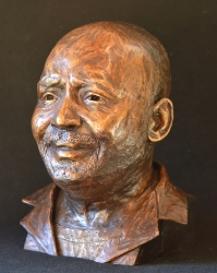 Portrait Bust of the Late Julius Ndlovo