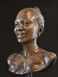 Portrait Bust of the late Kate Matlale Ramoshaba