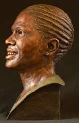 Portrait Bust of the late Lesego Victoria Montoedi