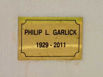 Portrait bust of the late Mr Philip Garlick