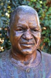 Portrait Bust of the late Prince Mphathi L Sithole