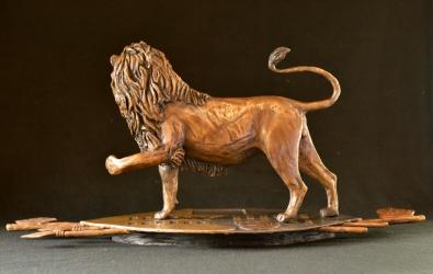 eSwatini Lion on Shield