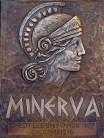Minerva relief plaque