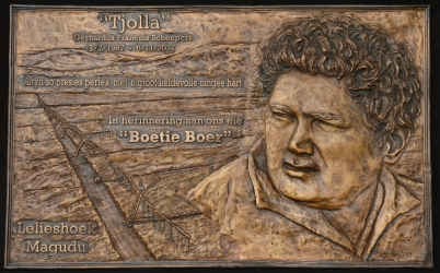 'Tjolla' Plaque